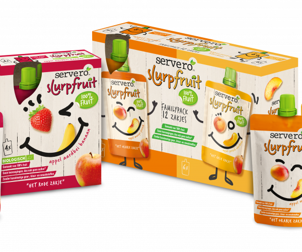 Servero introduceert Slurpfruit 100% Fruit