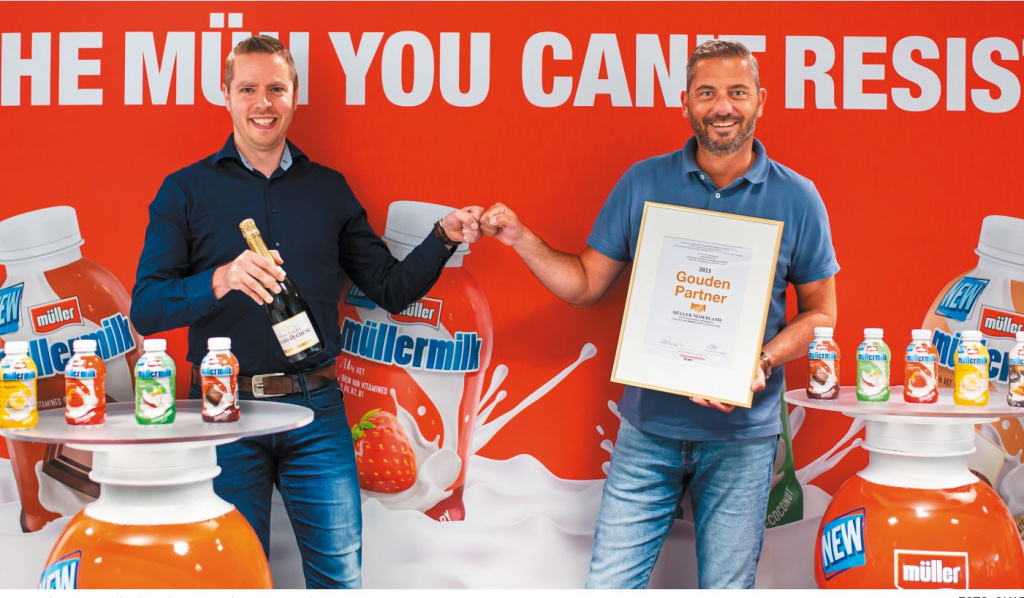 Roy Wolf (sales manager) en Bas Knook (trade marketing & supply chain manager).