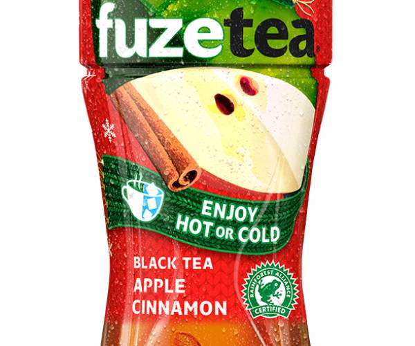 Fuze Tea introduceert wintervariant