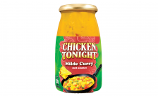 Nieuwe smaakvariant Chicken Tonight: Milde Curry